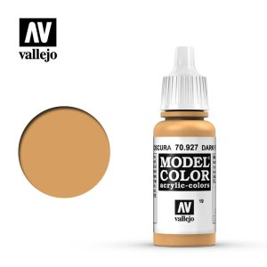 Vallejo Model Color Acrylic Dark Flesh 17ml