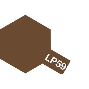 Tamiya LP-59 Flat Nato Brown 10ml Lacquer Paint