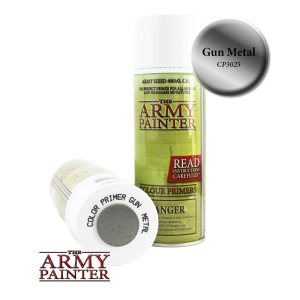 The Army Painter Colour Primer - Gun Metal 400ml