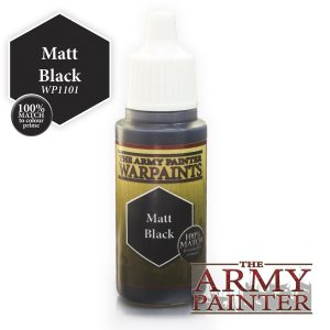 The Army Painter Matt Black 18ml