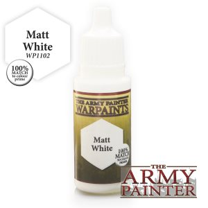 The Army Painter Matt White 18ml