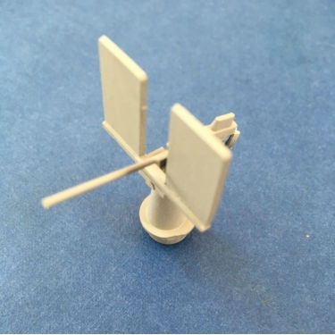 Model Boat Fittings 20mm Cannon 1:66 Scale