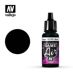 Vallejo Game Air Acrylic Black 17ml