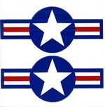 US Air Force Roundel 1947 on - Decal Multipack